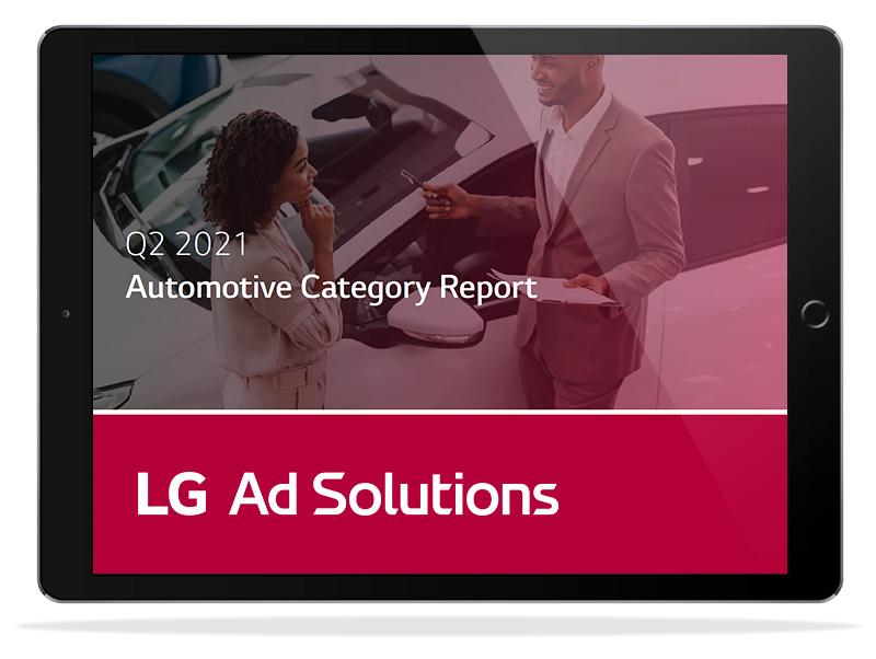 automotive category report mockup